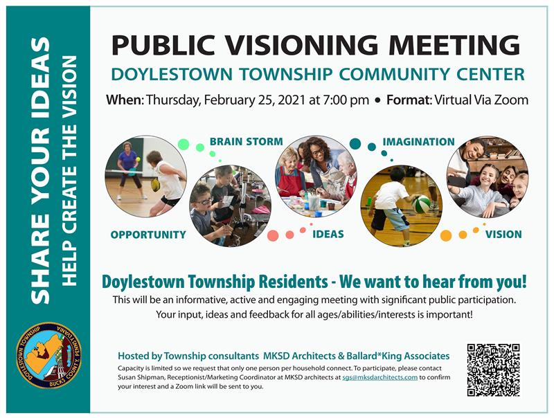 Calling all Township Residents